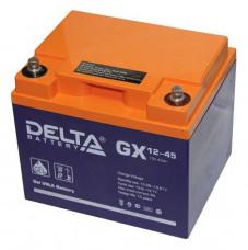 Тяговый аккумулятор DELTA GX 12-45  45Ah