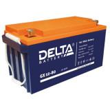 Тяговый аккумулятор DELTA GX 12-80 80Ah
