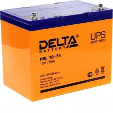Стационарный аккумулятор DELTA HRL 12-75 75Ah