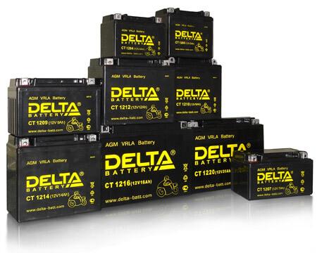 Аккумуляторы DELTA HRL, GX