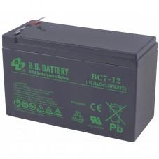 Стационарный аккумулятор B.B.Battery BC7-12 7Ah