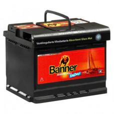 Тяговый аккумулятор BANNER Marine AGM-560 01 60Ач