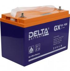 Стационарный аккумулятор DELTA GX 12-100 100Ah