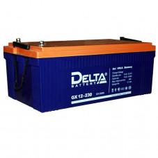 Стационарный аккумулятор DELTA GX 12-230 230Ah