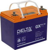 Стационарный аккумулятор DELTA GX 12-33 33Ah