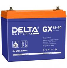 Стационарный аккумулятор DELTA GX 12-60 60Ah