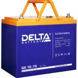 Стационарный аккумулятор DELTA GX 12-75 75Ah