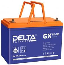 Стационарный аккумулятор DELTA GX 12-90 90Ah
