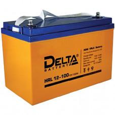 Стационарный аккумулятор DELTA HRL 12-100 90Ah