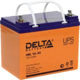 Стационарный аккумулятор DELTA HRL 12-33 33Ah