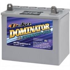 Тяговый гелевый аккумулятор Deka 8GU1 33Ah
