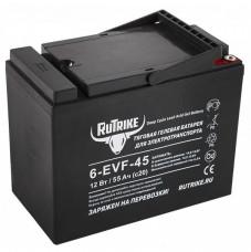 Тяговый аккумулятор RuTrike 6-EVF-45 55Ah